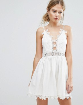 photo Odelle Dress by Finders Keepers, color White - Image 1