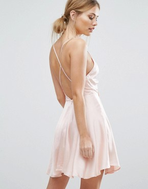 photo Fernando Mini Dress by Finders Keepers, color Pale Pink - Image 2
