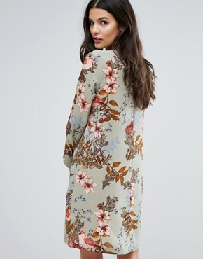photo Ilvaly Long Sleeve Dress by Y.A.S, color Seagrass - Image 2