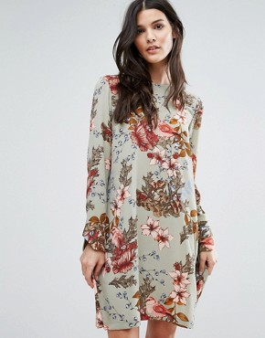 photo Ilvaly Long Sleeve Dress by Y.A.S, color Seagrass - Image 1