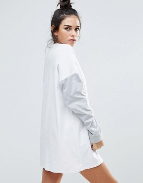 photo Conflict Sweater Dress by The Ragged Priest, color White - Image 2