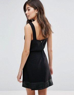 photo Indiana Tie Waist Dress by Little White Lies, color Black - Image 2