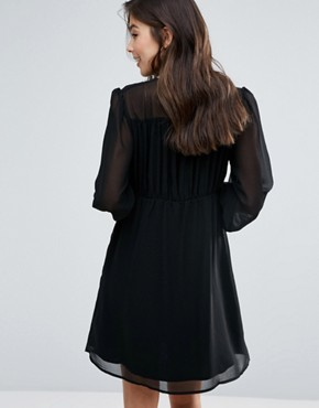 photo Anita Blousen Sleeve Dress by Little White Lies, color Black - Image 2