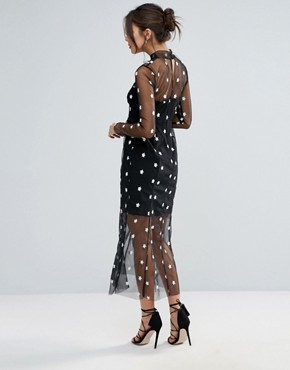 photo Alexander Maxi Dress by Little White Lies, color Black - Image 2