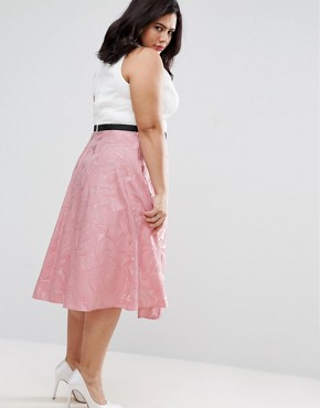 photo 2 In 1 Collared Prom Dress by Coast Plus, color Pink - Image 2