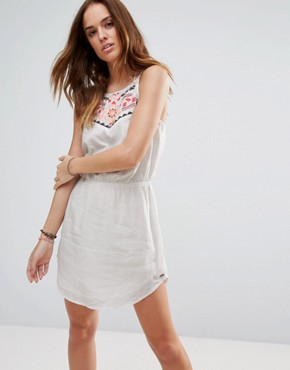 photo Fiesta Beach Dress by Rip Curl, color White - Image 1