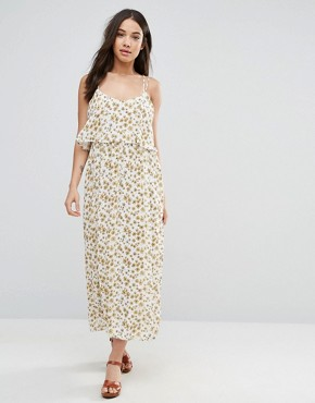 photo Brigitte Printed Dress by d.RA, color White - Image 1