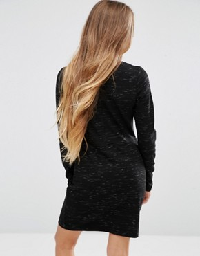 photo Fitted Dress in Stretch by Maison Scotch, color Black - Image 2