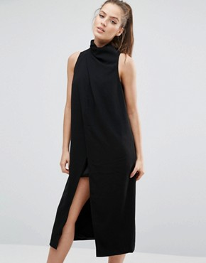 photo Never Be Like You Dress by C/meo Collective, color Black - Image 1