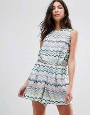 photo Swirl Print Dress with Tie Back by Traffic People, color Blue - Image 2