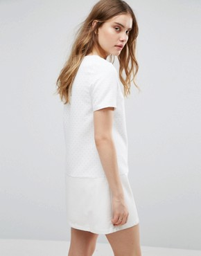 photo Lace Shift Dress by Traffic People, color White - Image 2