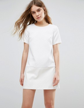 photo Lace Shift Dress by Traffic People, color White - Image 1
