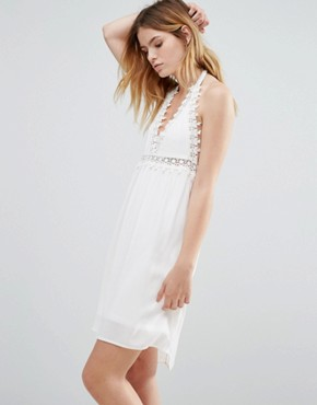photo Crochet Dress by Native Youth, color White - Image 1