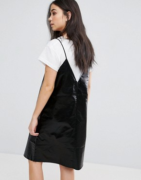 photo Fad Cami Mini Dress by Cheap Monday, color Black - Image 2