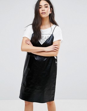 photo Fad Cami Mini Dress by Cheap Monday, color Black - Image 1
