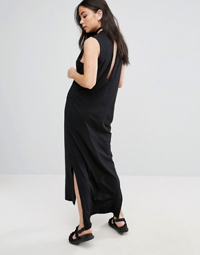 photo Twine Sleeveless Maxi Dress by Cheap Monday, color Black - Image 2