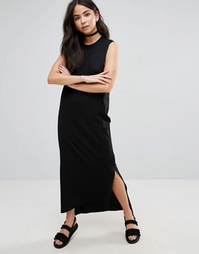 photo Twine Sleeveless Maxi Dress by Cheap Monday, color Black - Image 1