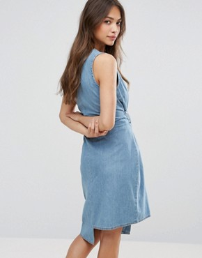 photo Rizzle Asymmetric Dress by Cheap Monday, color Fans Blue - Image 2