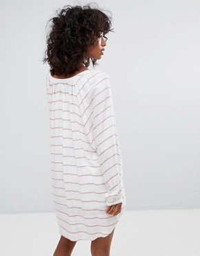 photo Montecito Tunic Dress by d.RA, color Turkish Stripe - Image 2