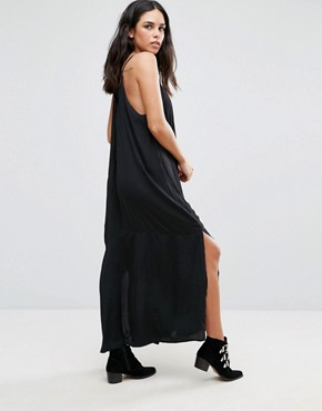 photo Stolen Heart Maxi Dress by Goldie, color Black - Image 2