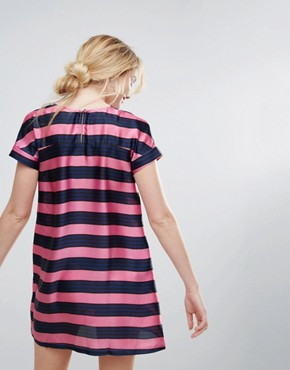 photo Striped Shift Dress by Traffic People, color Pink - Image 2