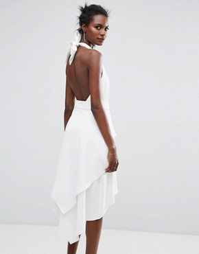 photo Out Of Line Dress by C/meo Collective, color Ivory - Image 2
