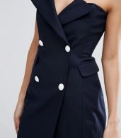 photo Point Blank Dress by Asilio, color Midnight Navy - Image 3