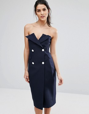 photo Point Blank Dress by Asilio, color Midnight Navy - Image 1