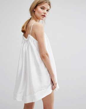 photo Ship Of Fools Dress by Asilio, color White/Gold - Image 2