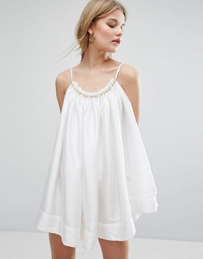 photo Ship Of Fools Dress by Asilio, color White/Gold - Image 1