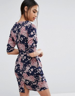 photo Floral Shift Dress by Poppy Lux, color Multi - Image 2