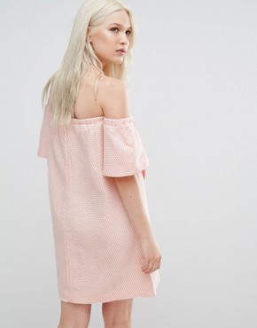 photo Valley Origami Dress by N12H, color Peach - Image 2