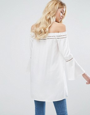 photo Angel Tunic by Walter Baker, color White - Image 2