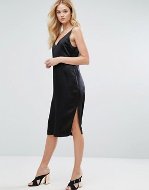 photo Kendall Dress in Silk by Walter Baker, color Black - Image 2