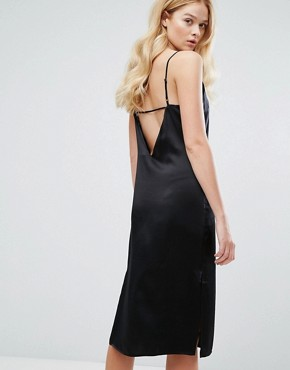 photo Kendall Dress in Silk by Walter Baker, color Black - Image 1