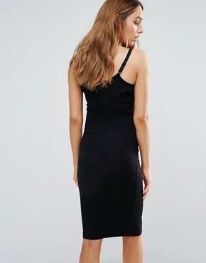 photo Cami Midi Dress by ASOS Maternity NURSING, color Black - Image 2