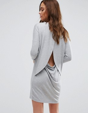 photo Dust Casual Dress by Supertrash, color Grey - Image 2