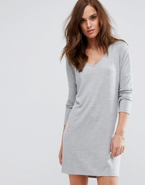 photo Dust Casual Dress by Supertrash, color Grey - Image 1