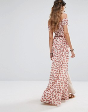 photo Hernderson Maxi Dress by Tularosa, color Floral Paisley - Image 2