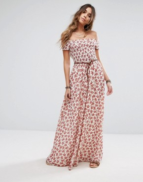 photo Hernderson Maxi Dress by Tularosa, color Floral Paisley - Image 1