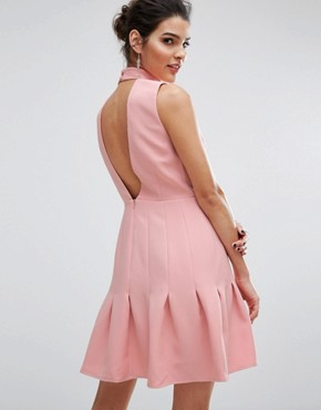 photo Stand Alone Dress by Keepsake, color Pink - Image 2