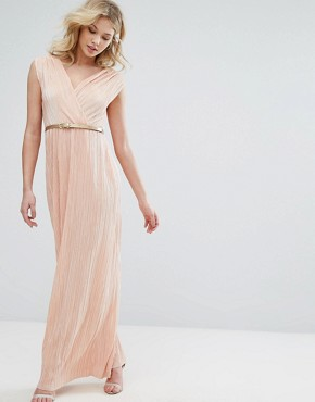 photo Grecian Maxi Dress by Oh My Love, color Orange - Image 1