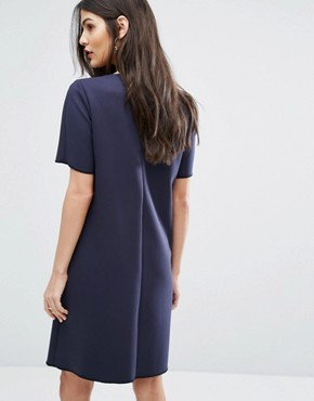 photo Caspio Dress by MAX&Co, color Navy - Image 2