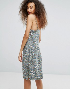 photo Floral Ditsy Cami Dress by Soaked in Luxury, color Multi - Image 2