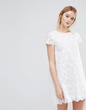 photo Denise Embroidery Dress by MAX&Co, color Ivory - Image 2