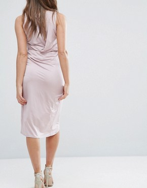 photo Embellished Trim Bodycon Dress by ASOS Maternity, color Lilac - Image 2