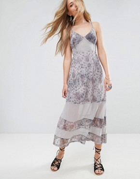 photo Moonlight Serenade Festival Maxi Dress by Somedays Lovin, color Multi - Image 1