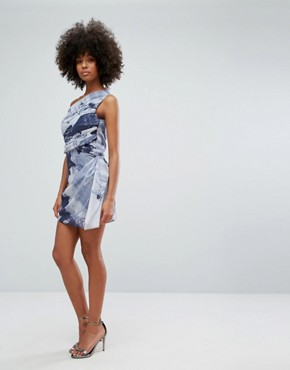 photo Rose Tunic Dress by Religion, color Blue - Image 4