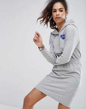 photo Nasa Love Sweat Dress by Love Moschino, color Grey - Image 1