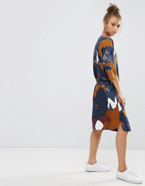 photo Printed Dress by b.Young, color Multi - Image 2
